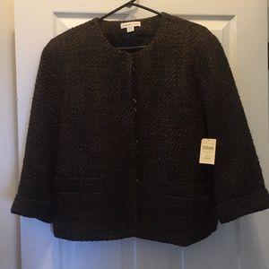 Coldwater Creek NWT jacket - sz L